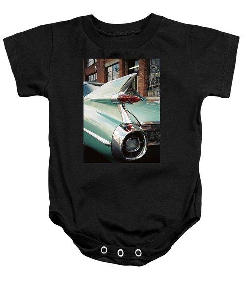 Cadillac Fins Baby Onesie