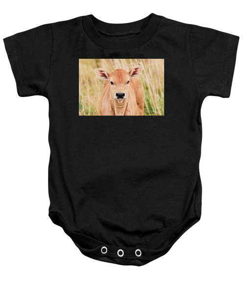 Calf In The High Grass Baby Onesie