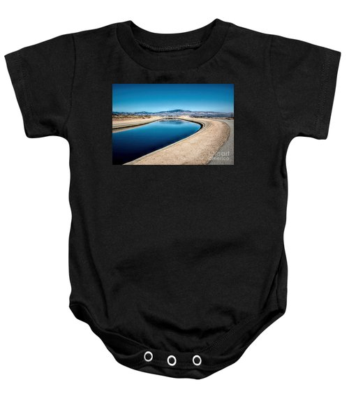 California Aqueduct At Fairmont Baby Onesie