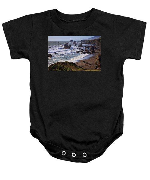 California Coast Sonoma Baby Onesie
