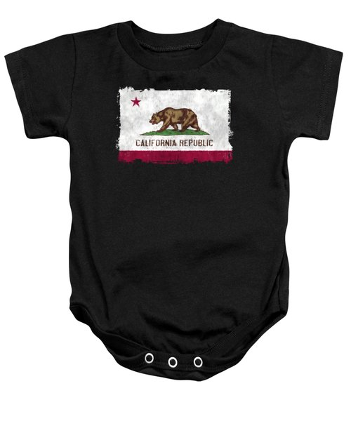 California Flag Baby Onesie