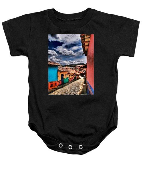 Calle De Colores Baby Onesie