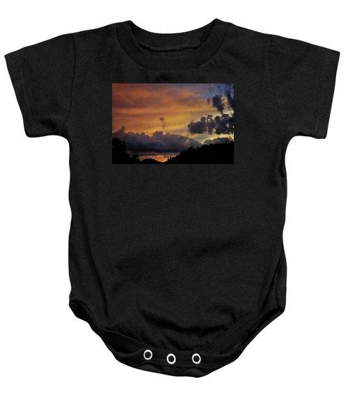 Canyon Sunset Baby Onesie