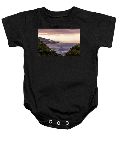 Cape Perpetua, Oregon Coast Baby Onesie