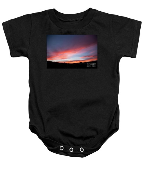 Capital Reef Sunset Baby Onesie