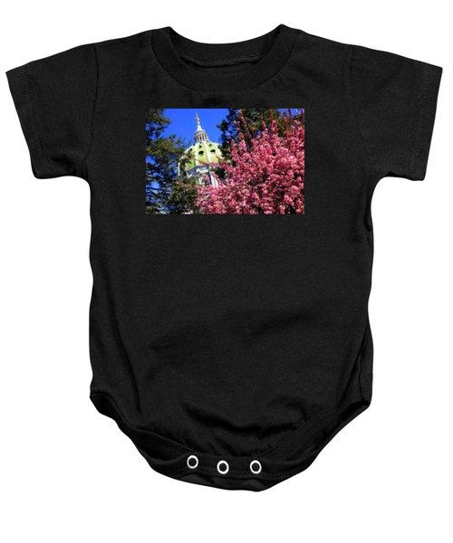 Capitol In Bloom Baby Onesie
