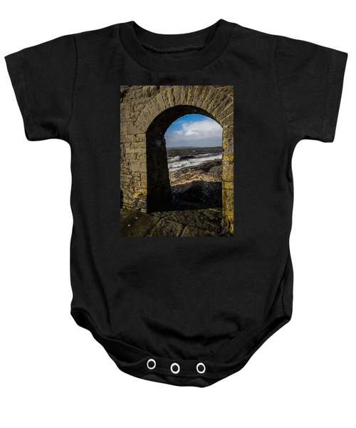 Cappagh Pier And Ireland's Shannon Estuary Baby Onesie
