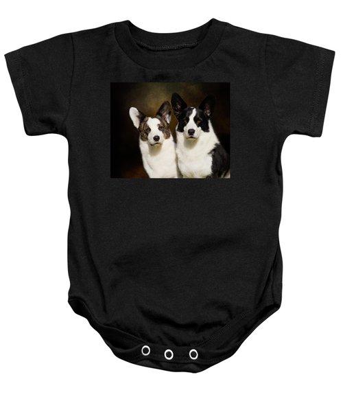 Cardigan Corgis Baby Onesie