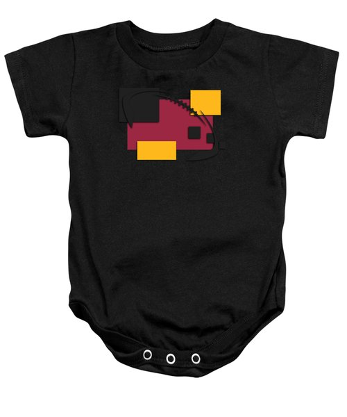 Cardinals Abstract Shirt Baby Onesie