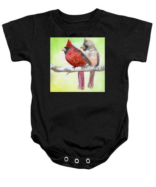 Cardinals Baby Onesie