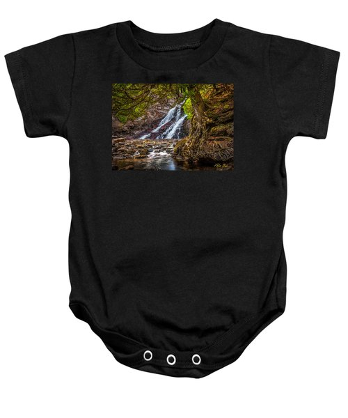 Caribou Falls In Fall Baby Onesie