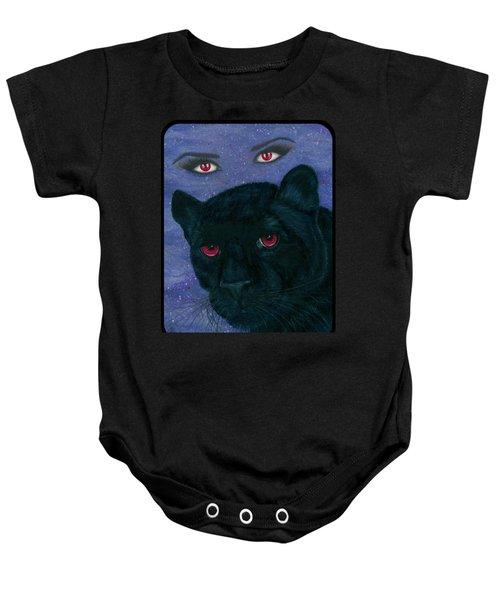 Carmilla - Black Panther Vampire Baby Onesie