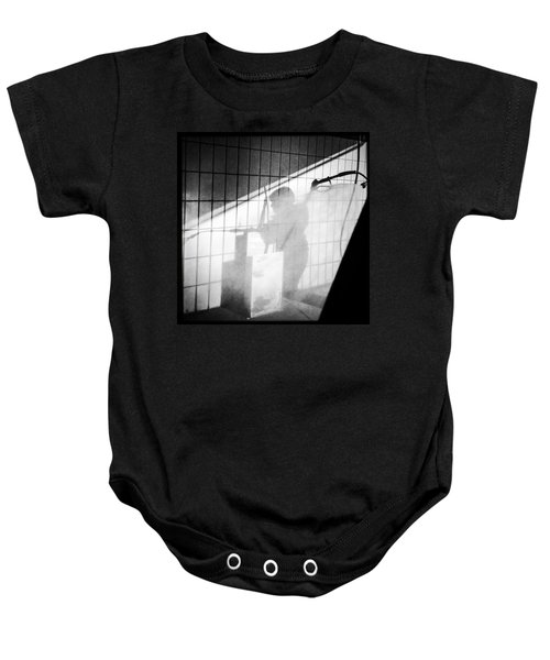 Carwash Shadow And Light Baby Onesie