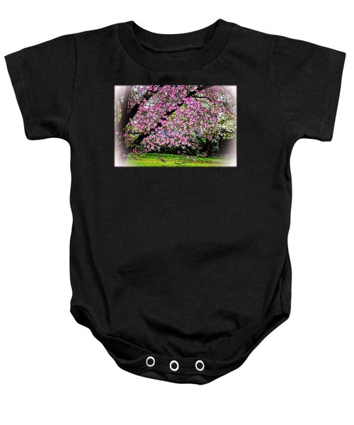 Cascading Dogwood Copyright Mary Lee Parker 17, Baby Onesie