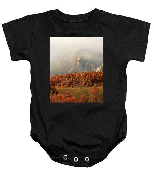 Cascading Fall Baby Onesie