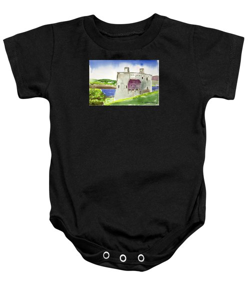 Castle From The Hill Baby Onesie