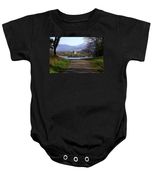 Castle On The Lakes Baby Onesie