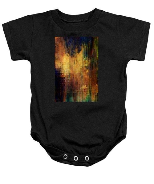 Castle View Planet Pixel Baby Onesie