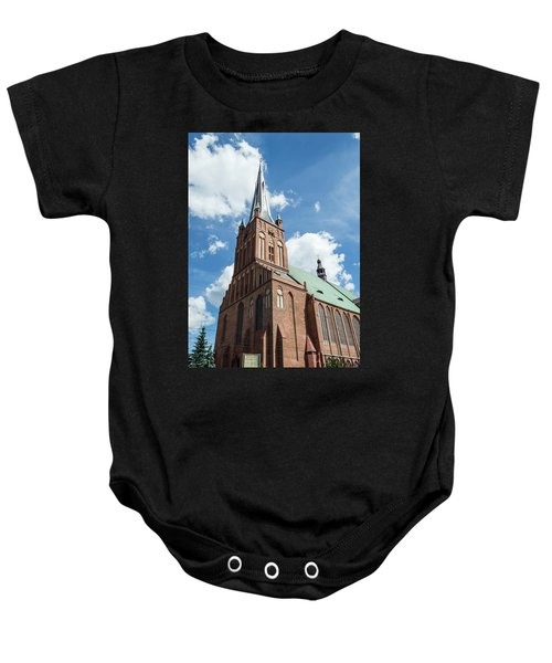 Cathedral Basilica Of St. James The Apostle, Szczecin A Baby Onesie