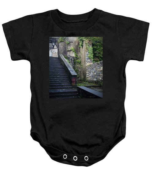 Cathedral Stairs Baby Onesie