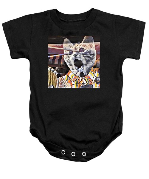 Cats On Congress Baby Onesie