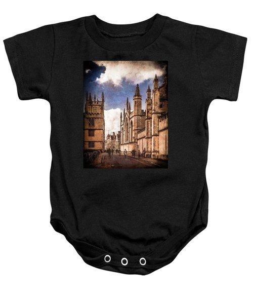 Oxford, England - Catte Street Baby Onesie