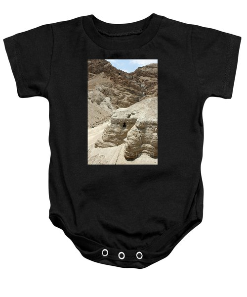 Caves Of The Dead Sea Scrolls Baby Onesie