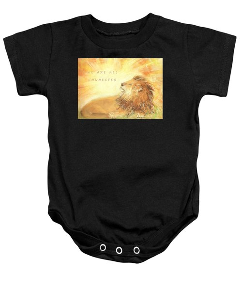 Cecil The Lion Baby Onesie