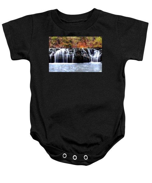 Cedar Creek Falls, Kansas Baby Onesie