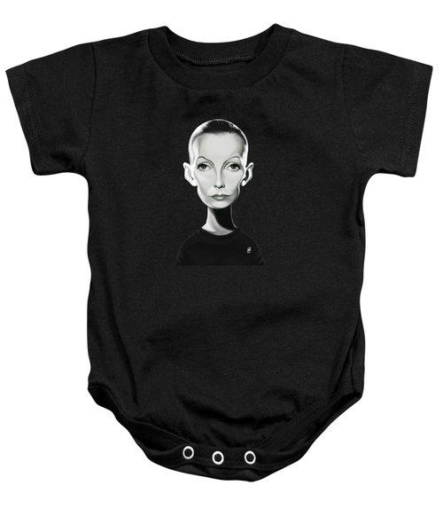 Celebrity Sunday - Greta Garbo Baby Onesie