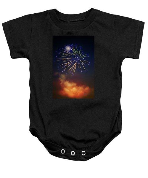Celestial Celebration  Baby Onesie