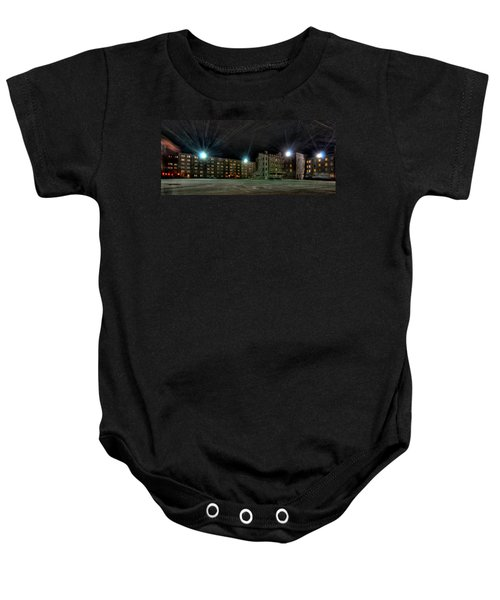 Central Area At Night Baby Onesie