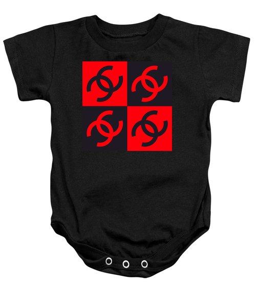 Chanel Design-3 Baby Onesie
