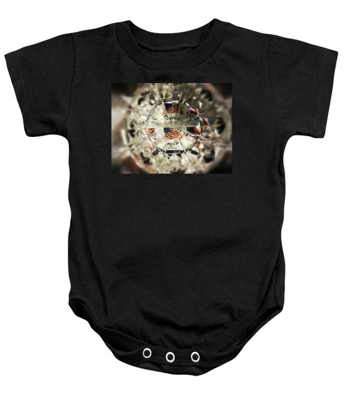 Chaotic Freedom Baby Onesie