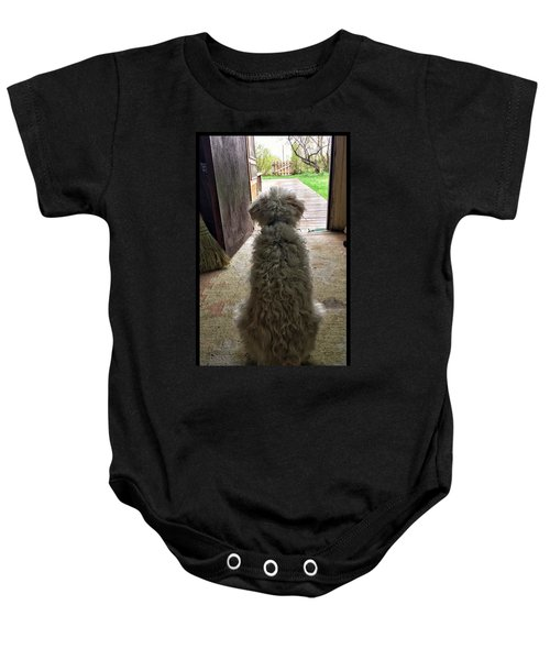 Charlie Dog Baby Onesie