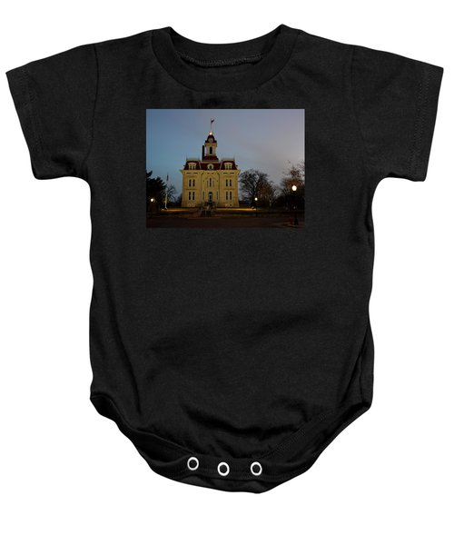 Chase County Courthouse Baby Onesie