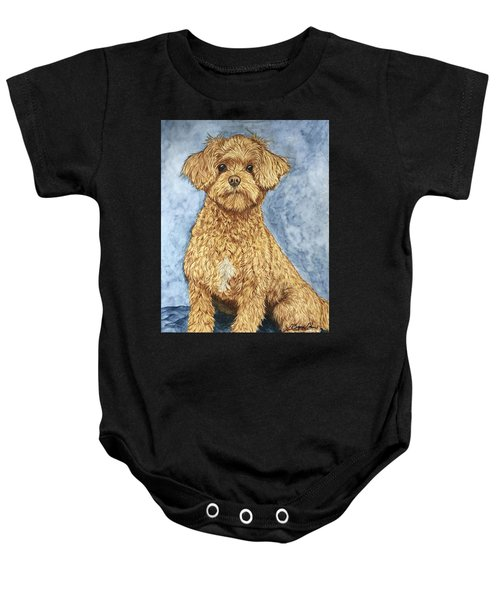 Chase The Maltipoo Baby Onesie