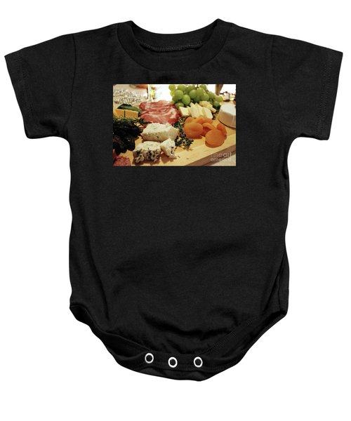 Cheese And Meat Baby Onesie