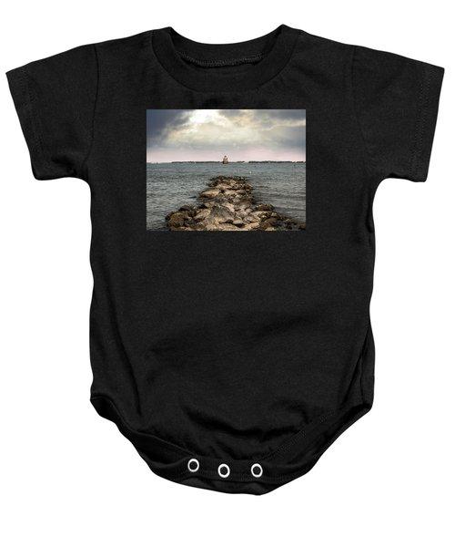 Chesapeake Bay Lighthouse Baby Onesie