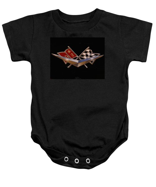 Chevy Flags  Baby Onesie