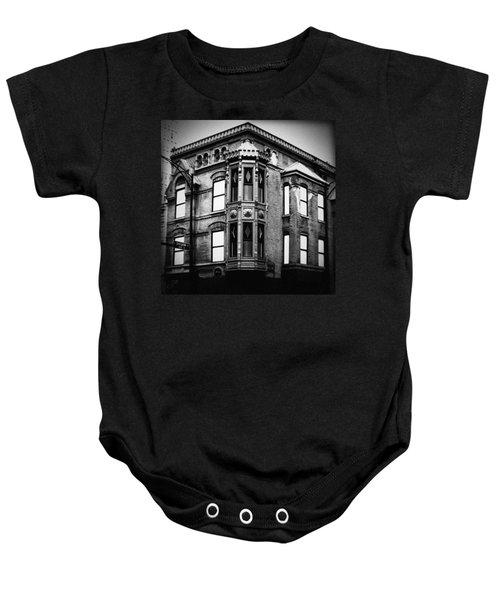 Chicago Historic Corner Baby Onesie