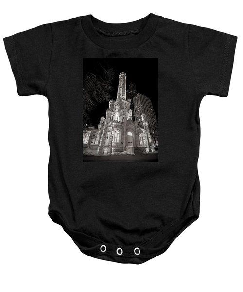 Chicago Water Tower Baby Onesie