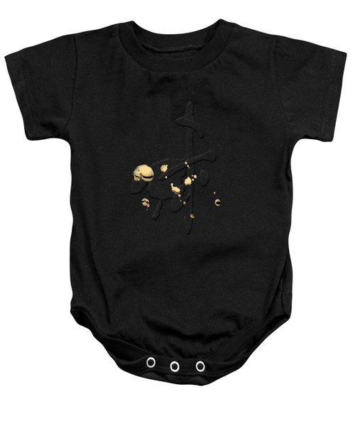 Chinese Zodiac - Year Of The Goat On Rice Paper Baby Onesie