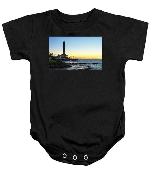 Chipiona Lighthouse Cadiz Spain Baby Onesie