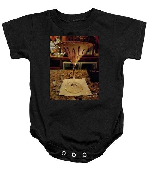 Chocolate Martini Baby Onesie