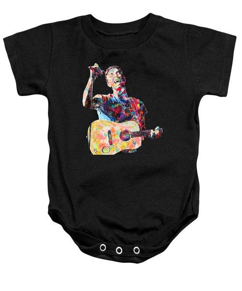 Chris Martin Baby Onesie