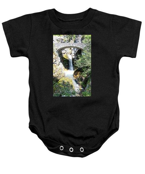 Christine Falls - Mt Rainier National Park Baby Onesie