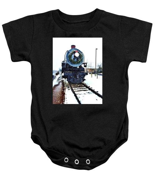 Christmas Train Baby Onesie
