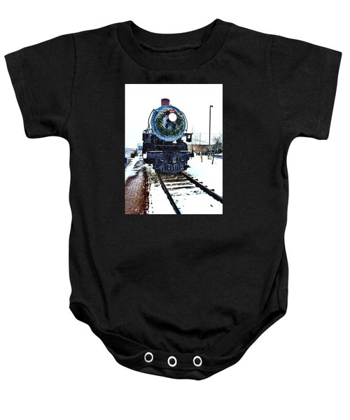 Christmas Train Baby Onesie