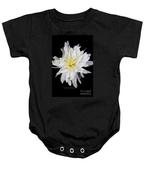 Chrysanthemum Bloom Baby Onesie